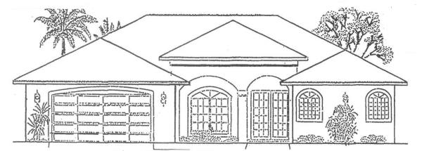New Construction Homes In Cape Coral Florida Destiny Ii