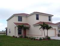 2 story lakefront rental home in Cape Coral