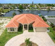 cape coral waterfront vacation rental with sailboat access