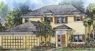 New 2-story home in gated community in NE Cape Cora:l Mahogany
