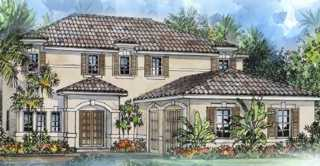 New 2-story home in gated community in NE Cape Coral: Pine