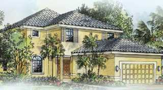 New 2-story home in gated community in NE Cape Coral: Hemlock