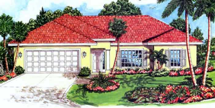New construction homes in lehigh acres florida pine for Garage door repair lehigh acres