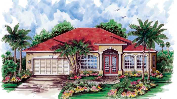 New construction homes in lehigh acres florida sanibel for Garage door repair lehigh acres